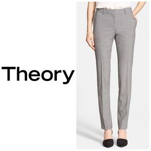 Theory Stretch Wool Pants